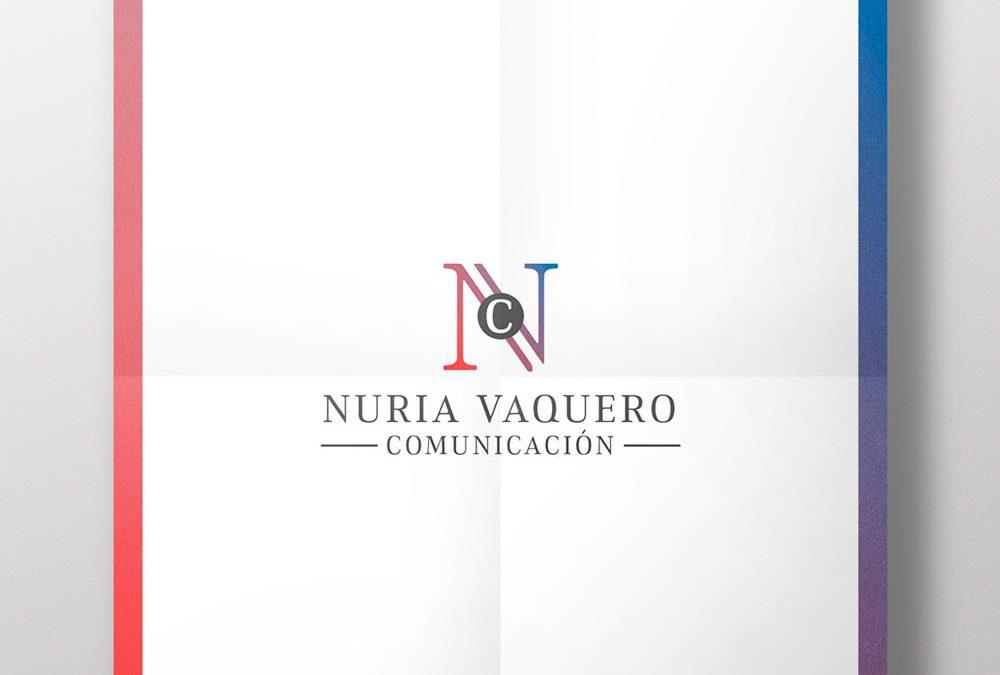 Identidad visual corporativa – NV Comunicación – Agencia de comunicación