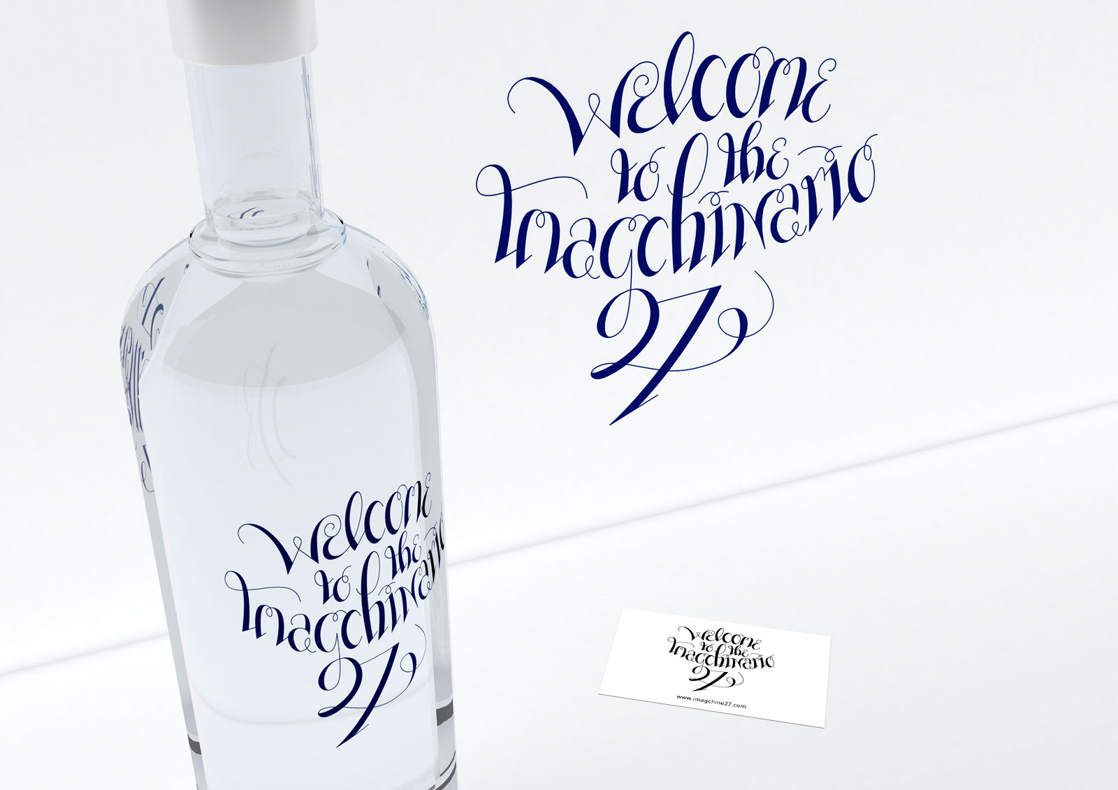 Render - Lettering de Welcome to the Imagchinario 27