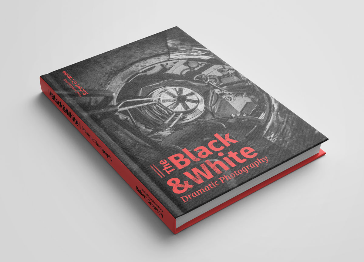 The Black & White - Dramatische Fotografie - Frontcover