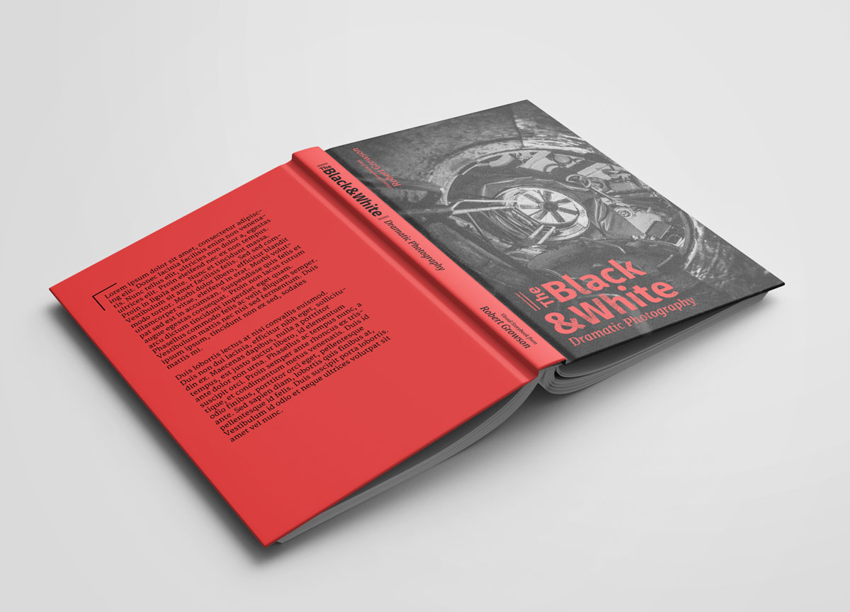 The Black & White - Dramatische Fotografie - Cover